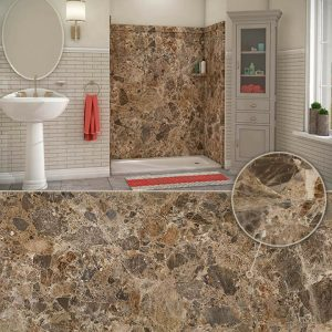 Austin Bathroom Remodel colors_breccia-paradiso - 1 Day Bath of Texas
