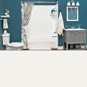 Austin Bathroom Remodel colors_white - 1 Day Bath of Texas