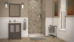 Austin Bathroom Remodel simtile-t3-mocha-travertine-3wall-4896-full - 1 Day Bath of Texas