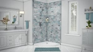 Austin Bathroom Remodel - Shower & Baths Austin - simtile-t3-triton-2wall-4096-full -1 Day Bath of Texas